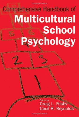 Comprehensive Handbook of Multicultural School Psychology 9780471266150