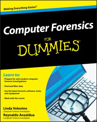 Computer Forensics for Dummies 9780470371916