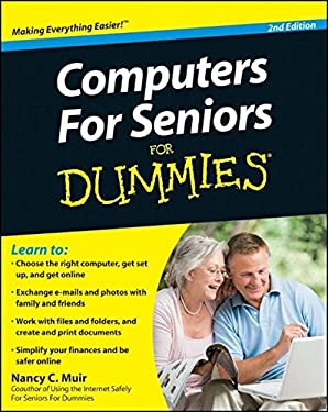 Computers for Seniors for Dummies 9780470534830