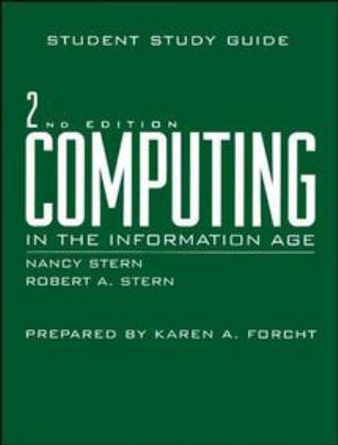 Computing in the Information Age, Study Guide 9780471141266