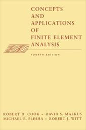 Concepts and Applications of Finite Element Analysis 1554981