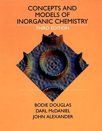 Concepts and Models of Inorganic Chemistry 9780471629788