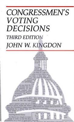 Congressmen's Voting Decisions 9780472064014