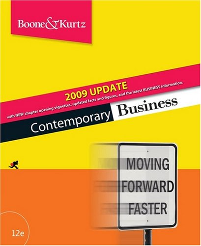 Contemporary Business Update [With CD] 9780470425800