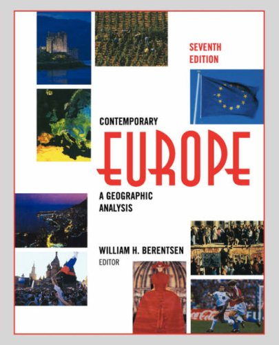 Contemporary Europe: A Geographic Analysis 9780471583363