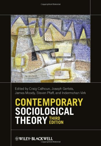 Contemporary Sociological Theory 9780470655665