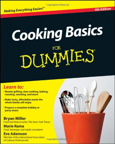 Cooking Basics for Dummies 9780470913888