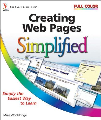 Creating Web Pages Simplified 9780470481929