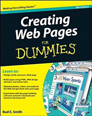 Creating Web Pages for Dummies [With CDROM] 9780470385357