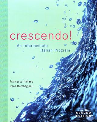 Crescendo!: An Intermediate Italian Program [With CD (Audio)] 9780470425855
