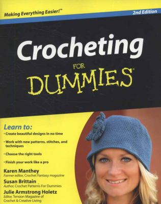 Crocheting for Dummies 9780470536452