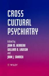 Cross Cultural Psychiatry 1584899