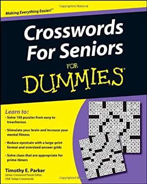 Crosswords for Seniors for Dummies 9780470491577