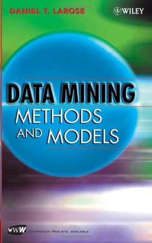 Data Mining Methods and Models 9780471666561