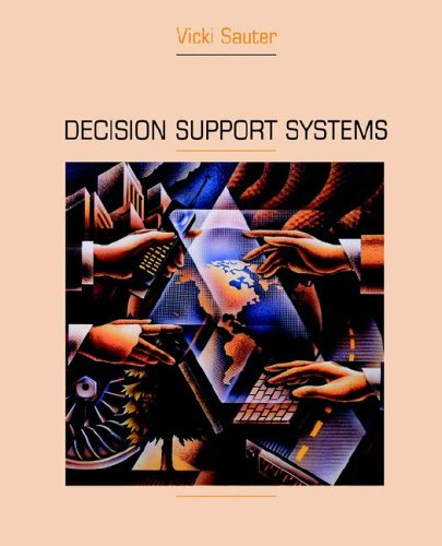 Decision Support Systems: An Applied Managerial Approach 9780471311348