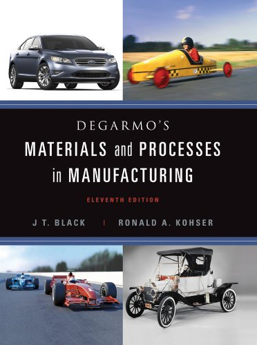 DeGarmo's Materials and Processes in Manufacturing [With Access Code] 9780470924679