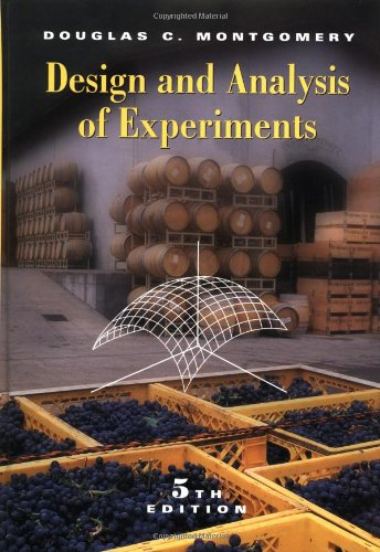 Design and Analysis of Experiments 9780471316497