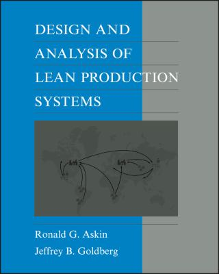Design and Analysis of Lean Production Systems 9780471115939