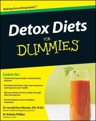 Detox Diets for Dummies 9780470525128