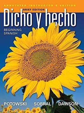 Dicho y Hecho: Beginning Spanish 9780470922262