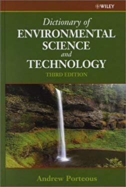 Dictionary of Environmental Science and Technology 9780471633761