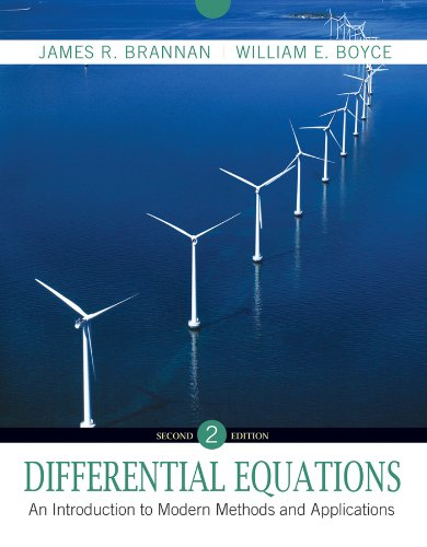 Differential Equations: An Introduction to Modern Methods and Applications 9780470458242