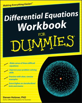 Differential Equations Workbook for Dummies 9780470472019
