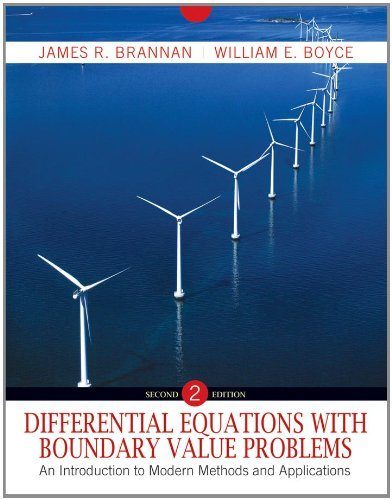 Differential Equations with Boundary Value Problems: An Introduction to Modern Methods and Applications 9780470595350