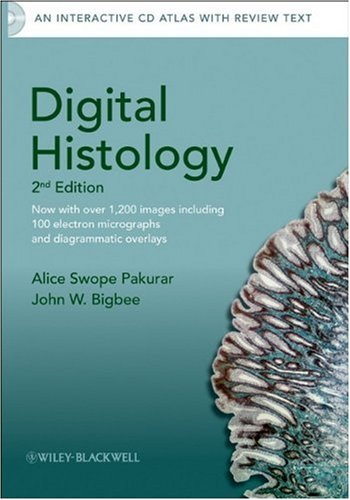 Digital Histology: An Interactive CD Atlas with Review Text 9780470475393
