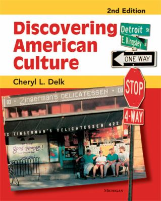 Discovering American Culture 9780472032341