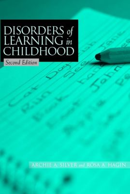 Disorders of Learning in Childhood 9780471392590