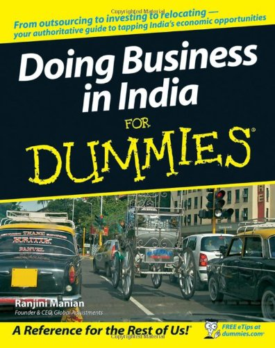 Doing Business in India for Dummies 9780470127698