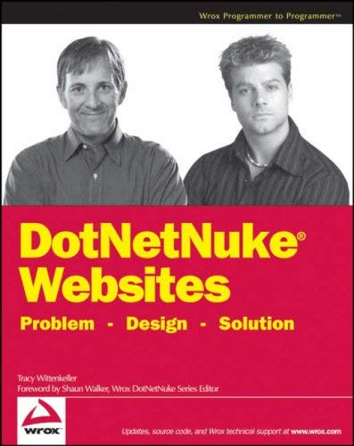 DotNetNuke Websites: Problem - Design - Solution