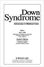 Down Syndrome: Advances in Medical Care 1564178