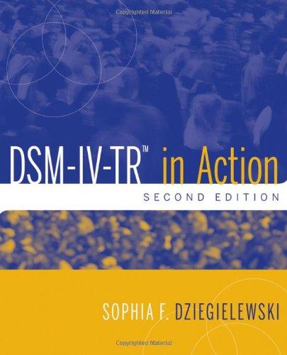 DSM-IV-TR in Action 9780470551714