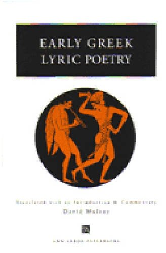 Early Greek Lyric Poetry 9780472086061
