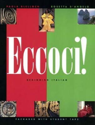 Eccoci!: Beginning Italian 9780471309413