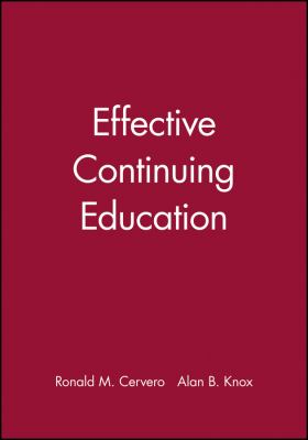 Effective Continuing Education 9780470623114