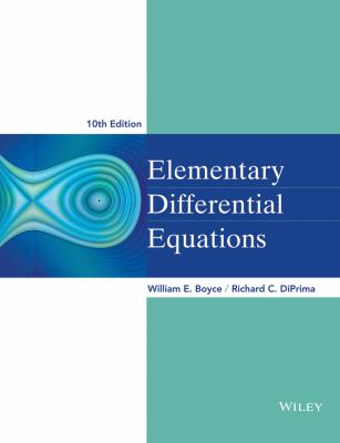 Elementary Differential Equations 9780470458327