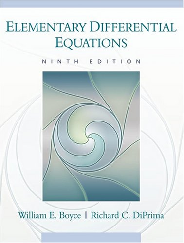 Elementary Differential Equations [With Web Registration Card] 9780470039403