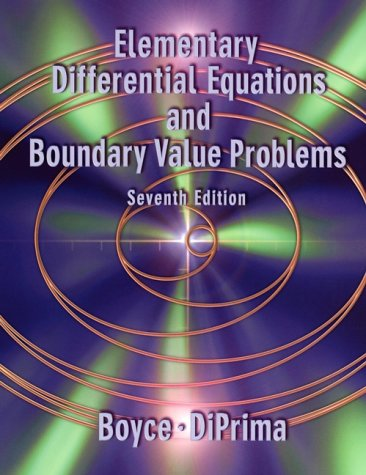 Elementary Differential Equations and Boundary Value Problems 9780471319993