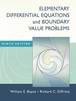 Elementary Differential Equations and Boundary Value Problems [With Web Registration Card] 9780470383346