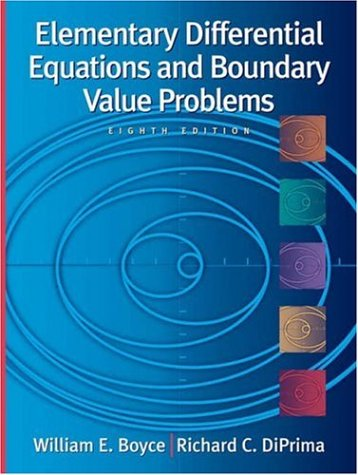 Elementary Differential Equations and Boundary Value Problems, with Ode Architect CD 9780471433385