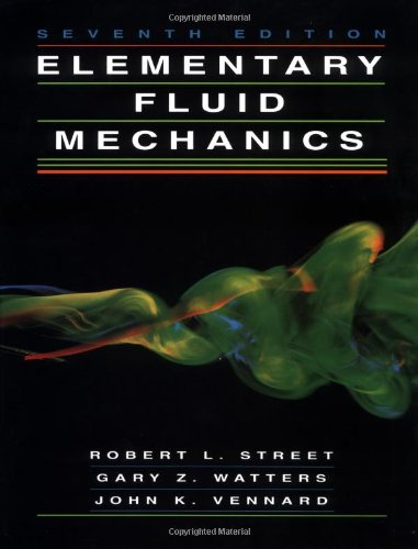 Elementary Fluid Mechanics 9780471013105