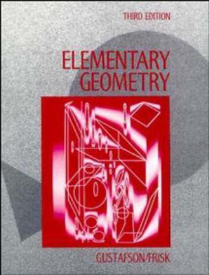 Elementary Geometry 9780471510024