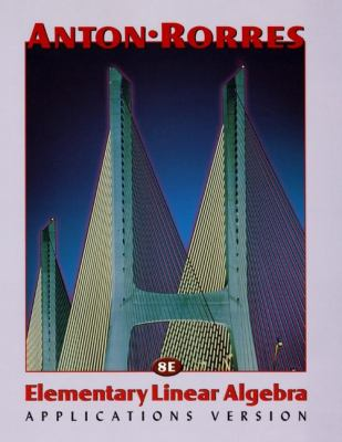Elementary Linear Algebra 9780471170525