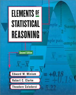 Elements of Statistical Reasoning 9780471192770
