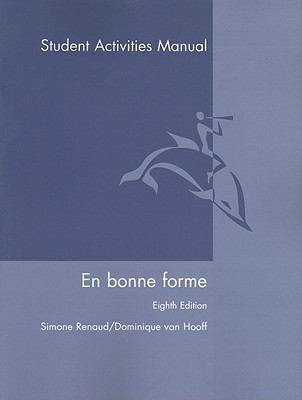 En Bonne Forme Student Activities Manual 9780470428696