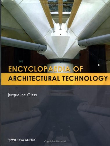 Encyclopedia of Architectural Technology 9780471885597