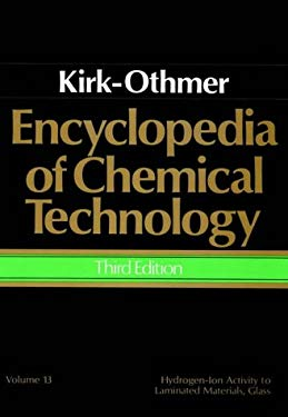 Encyclopedia of Chemical Technology, Hydrogen-Ion Activity to Laminated Materials, Glass 9780471020660